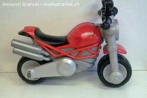 Moto Ducati Monster Cavalcabile Chicco